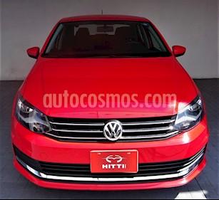 foto Volkswagen Vento Comfortline usado (2017) color Rojo precio $175,000