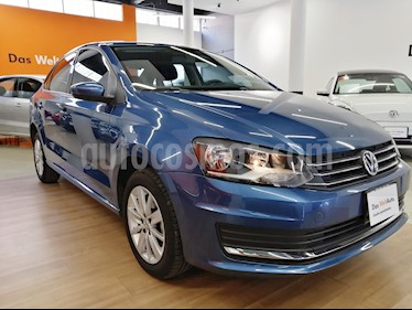 Foto venta Auto usado Volkswagen Vento Comfortline (2018) color Azul precio $208,000
