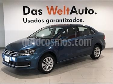 Foto Volkswagen Vento Comfortline usado (2018) color Azul precio $203,000