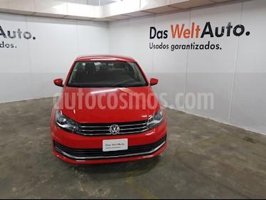 Foto venta Auto Seminuevo Volkswagen Vento Comfortline (2018) color Rojo precio $199,000