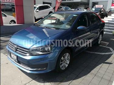 Volkswagen Vento Comfortline usado (2018) color Azul precio $175,000