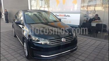 Foto venta Auto Seminuevo Volkswagen Vento Comfortline (2018) color Negro Profundo precio $22,000