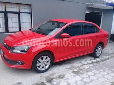Volkswagen Vento Highline TDI usado (2015) color Rojo Flash precio $138,000