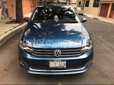 Foto Volkswagen Vento Highline usado (2018) color Azul precio $195,000