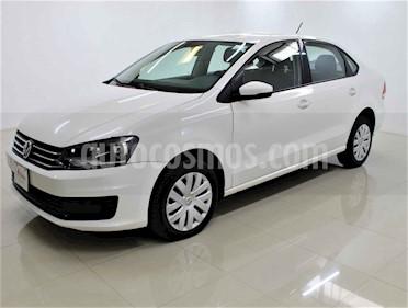 Volkswagen Vento 4p Starline L4/1.6 Aut usado (2018) color Blanco precio $160,000