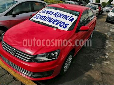 Volkswagen Vento Startline usado (2018) color Rojo precio $177,000