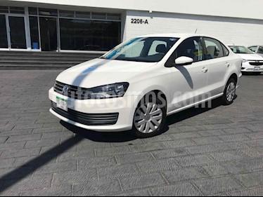 Volkswagen Vento 4p Starline L4/1.6 Aut usado (2019) color Blanco precio $179,900