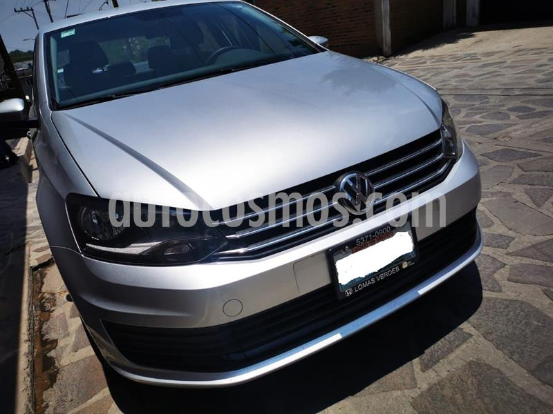 Volkswagen Vento Startline usado (2018) color Plata precio $170,000