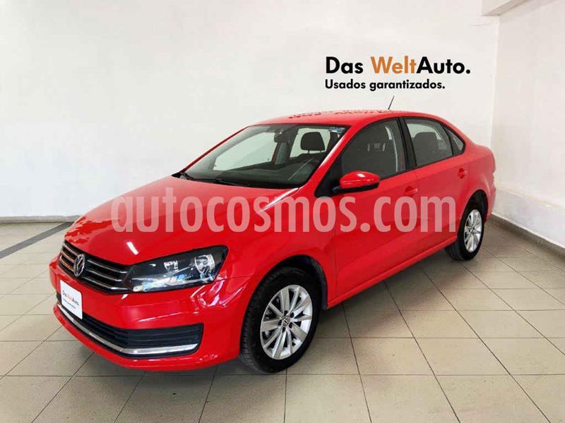 Volkswagen Vento Comfortline Aut usado (2019) color Rojo precio $219,928