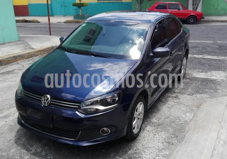 Volkswagen Vento Highline usado (2015) color Azul precio $130,000