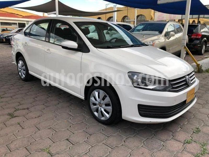 Volkswagen Vento Startline Aut usado (2018) color Blanco precio $164,000