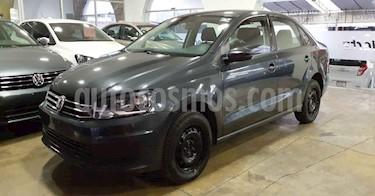 Volkswagen Vento 4p Starline L4/1.6 Aut usado (2019) color Gris precio $179,900