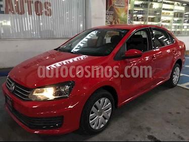 Volkswagen Vento Startline Aut usado (2017) color Rojo precio $148,000