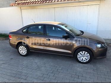 Volkswagen Vento Startline usado (2015) color Marron precio $138,000