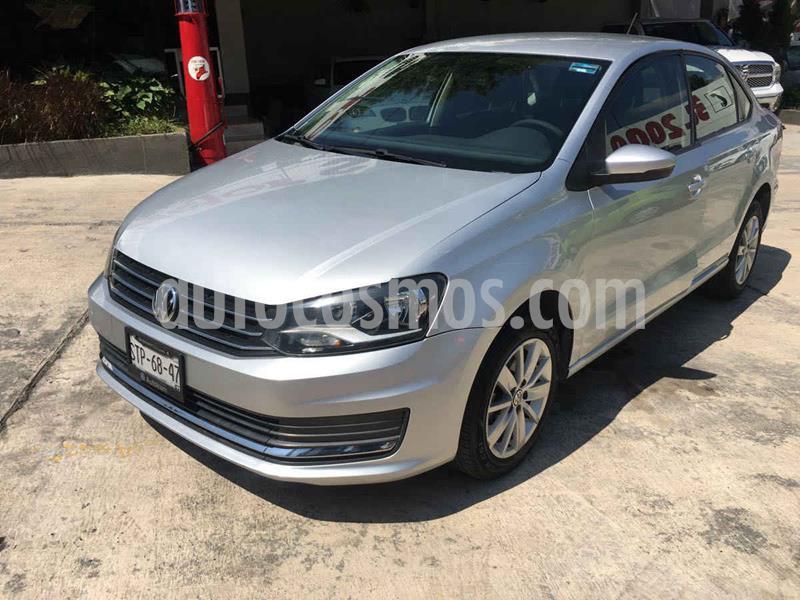 Volkswagen Vento Comfortline usado (2017) color Plata precio $159,000