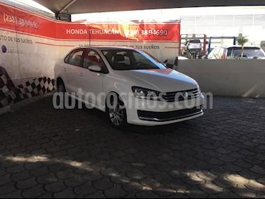 Volkswagen Vento Comfortline usado (2018) color Blanco Candy precio $169,000