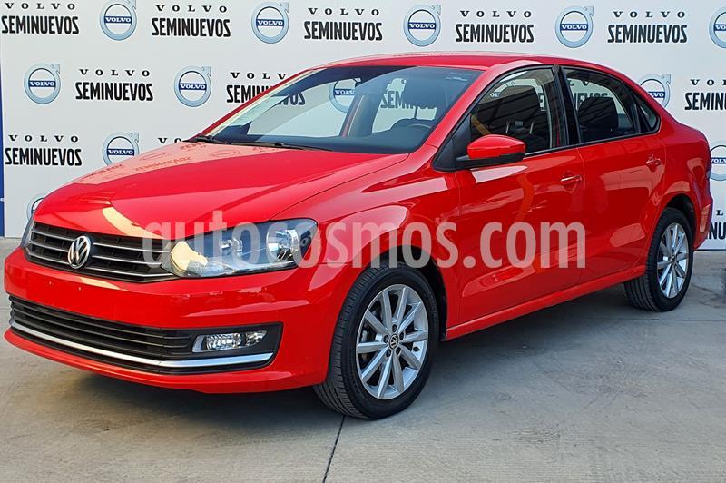 Volkswagen Vento Highline usado (2018) color Rojo precio $205,000