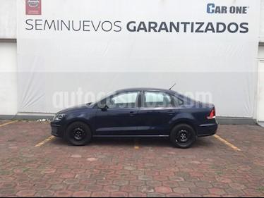 Volkswagen Vento Startline usado (2016) color Azul Noche precio $129,900