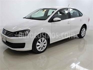 foto Volkswagen Vento 4p Starline L4/1.6 Aut usado (2018) color Blanco precio $160,000