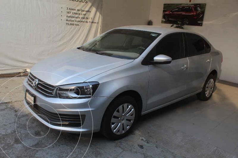 Foto Volkswagen Vento Startline usado (2019) color Plata precio $189,000