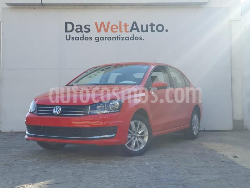 Volkswagen Vento Comfortline Aut usado (2020) color Rojo precio $240,000