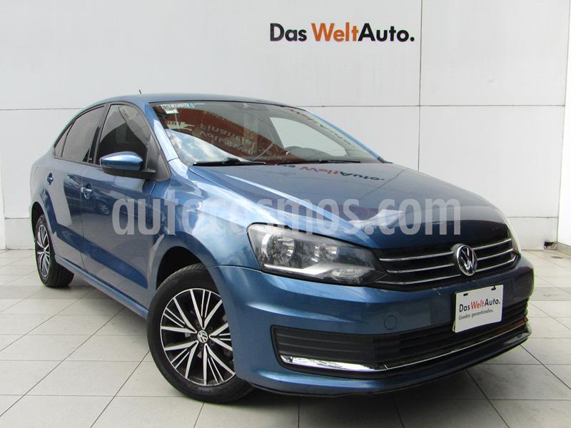Volkswagen Vento Allstar usado (2017) color Azul Metalico precio $149,000