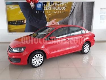 Volkswagen Vento 4p Starline L4/1.6 Aut usado (2018) color Rojo precio $178,900