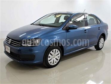 Volkswagen Vento 4p Starline L4/1.6 Aut usado (2018) color Azul precio $159,000