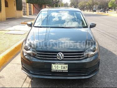 Volkswagen Vento Startline Aut usado (2018) color Gris Carbono precio $158,000