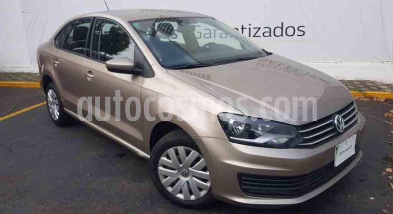 foto Volkswagen Vento Startline Aut usado (2019) color Beige Metalico precio $185,000