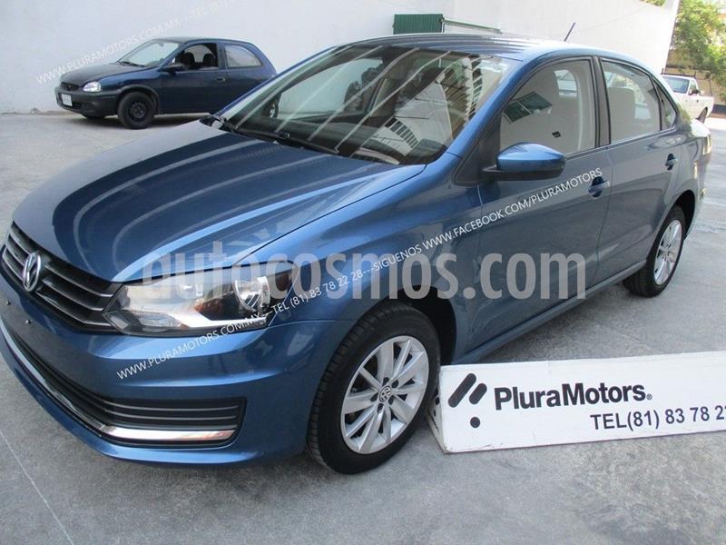 Volkswagen Vento Comfortline usado (2019) color Azul precio $205,000