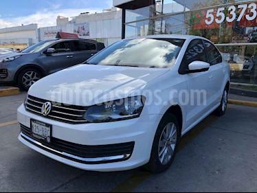 Volkswagen Vento 4p Confortline L4/1.6 Man usado (2019) color Blanco precio $210,000