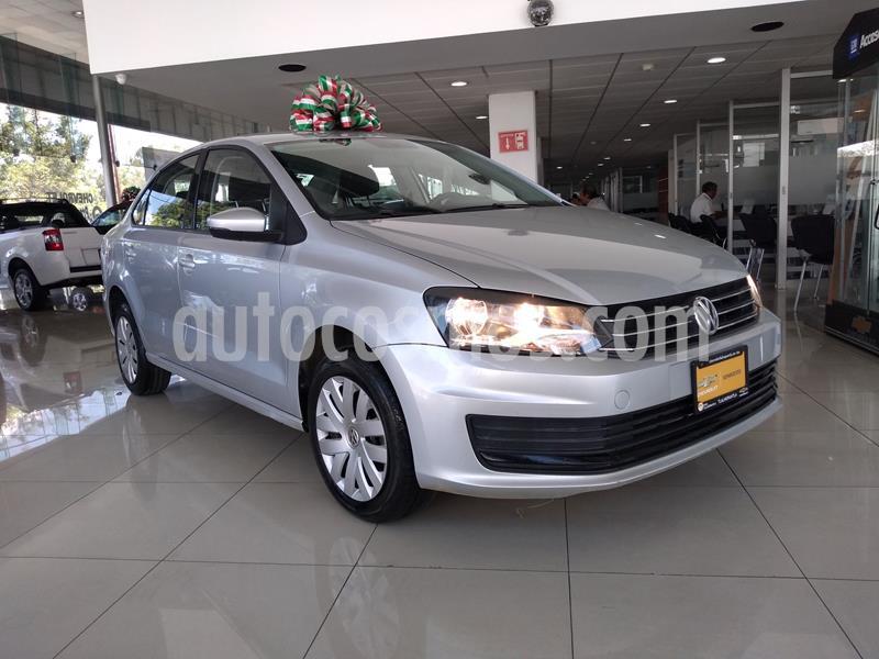 Volkswagen Vento Startline Aut usado (2018) color Plata precio $155,000