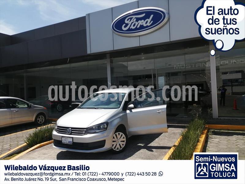 Volkswagen Vento STARTLINE STD usado (2018) color Plata precio $145,000