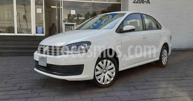 Volkswagen Vento Startline Aut usado (2019) color Blanco precio $169,900