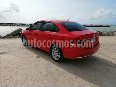 Volkswagen Vento Comfortline usado (2017) color Rojo Flash precio $155,000