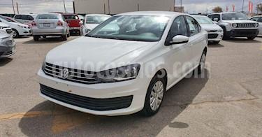 Volkswagen Vento 4p Starline L4/1.6 Aut usado (2019) color Blanco precio $168,900