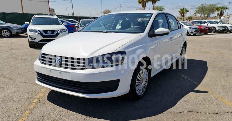 Volkswagen Vento Startline Aut usado (2020) color Blanco precio $209,900