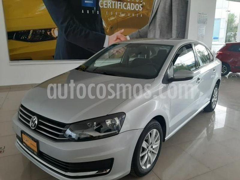 Volkswagen Vento Startline Aut usado (2018) color Plata precio $166,900