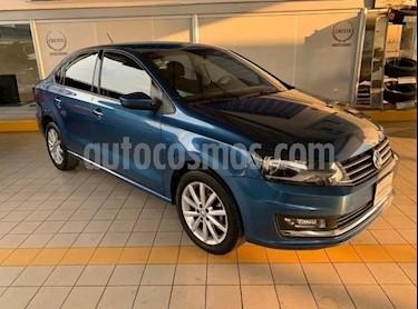 Volkswagen Vento Highline Aut usado (2018) color Azul Noche precio $219,900