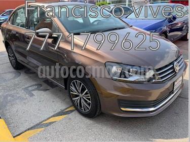 Volkswagen Vento Allstar Aut usado (2017) color Marron precio $179,900