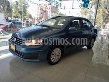 Volkswagen Vento 4P STARLINE L4/1.6 AUT usado (2018) color Azul precio $150,000