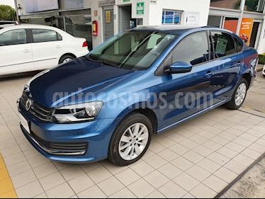 Volkswagen Vento Comfortline TDI usado (2018) color Azul precio $209,900