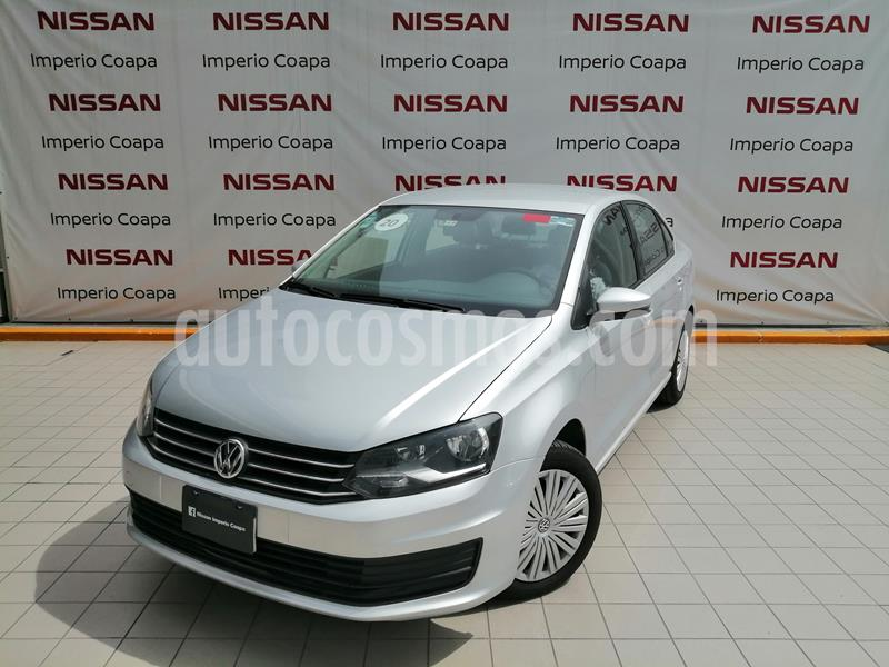 Volkswagen Vento Startline Aut usado (2020) color Gris precio $195,000