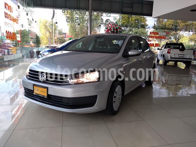 Volkswagen Vento Startline Aut usado (2018) color Plata Dorado precio $156,000