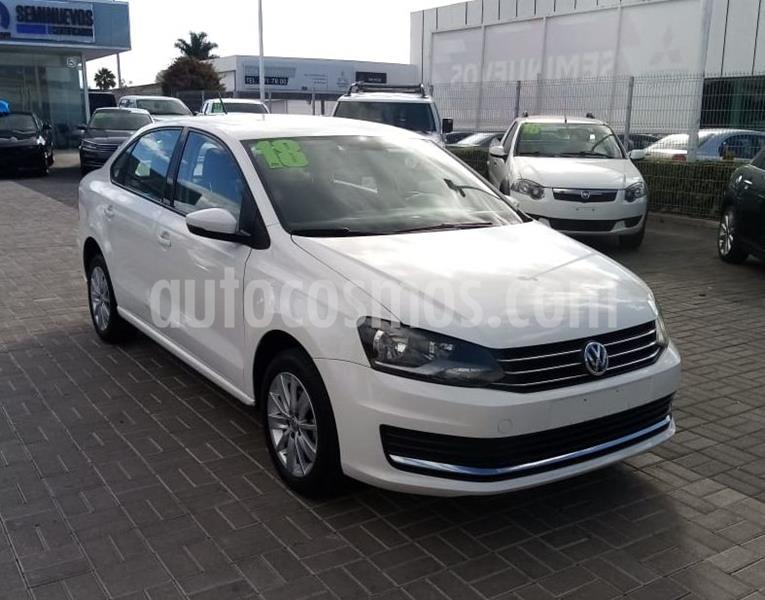 Volkswagen Vento Comfortline usado (2018) color Blanco precio $195,000
