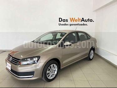 Volkswagen Vento 4p Confortline L4/1.6 Man usado (2019) color Beige precio $207,410