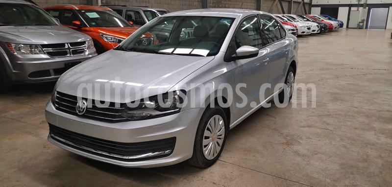 Volkswagen Vento Startline Aut usado (2018) color Plata precio $164,900