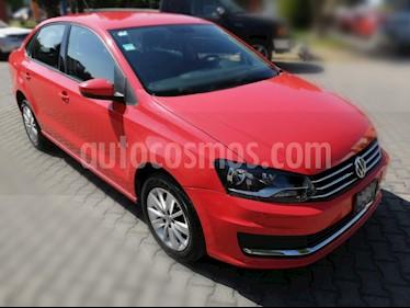 Volkswagen Vento Comfortline usado (2017) color Rojo precio $149,000