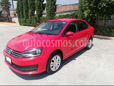 Volkswagen Vento 1.6L usado (2018) color Rojo precio $159,000